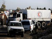 Центр по примирению враждующих сторон в Сирии доставил гуманитарный груз в Восточную Гуту