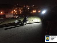 На кладбище во Львове  неизвестные подорвали польский мемориал
