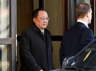 Глава МИД Северной Кореи прилетел в Швецию для подготовки  переговоров между  Ким Чен Ыном и Трампом