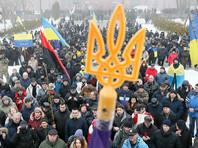 Сторонники Саакашвили вышли на митинг против властей в центре Киева