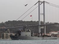 Очередной военный корабль США  вошел в акваторию Черного моря -  для участия в   учениях Spring Storm