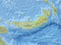 У берегов Папуа - Новой Гвинеи произошло землетрясение магнитудой 7,2