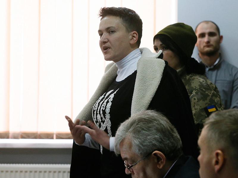 """Савченко, задержанная по обвинению в организации госпереворота на Украине, объявила голодовку"""" />"""