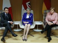 """Мэй рассказала Макрону и Меркель новую информацию о """"деле Скрипаля"""": Великобритании удалось идентифицировать тип """"Новичка"""""""