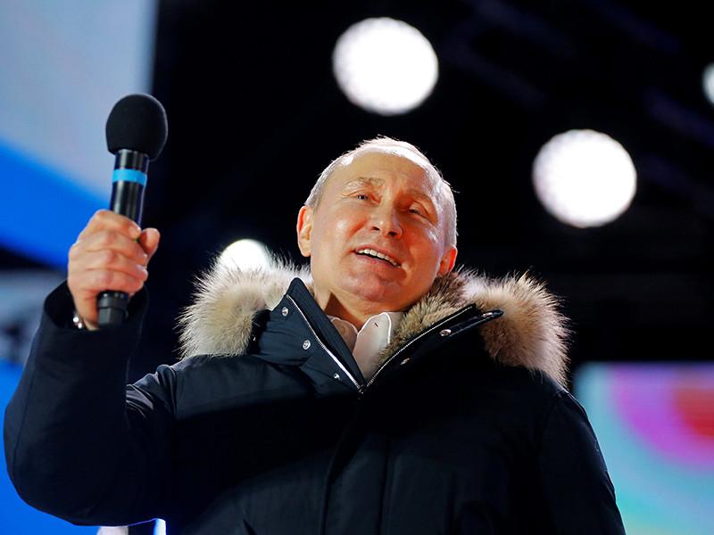 Главы Китая, Кубы, Сербии, Венесуэлы поздравили Путина с победой на выборах