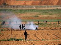 В секторе Газа сообщили о смерти 13 палестинцев во время столкновений  с армией Израиля на границе
