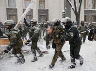 Задержанных у Рады в центре Киева отпускают из полиции