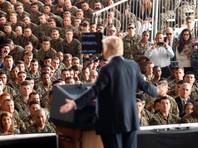 """Трамп выступал на базе перед морскими пехотинцами. Он сказал, что """"космос - это тоже (потенциальное) поле боя, такое же как суша, воздух и море"""""""