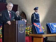 Инаугурация пророссийского президента Чехии Милоша Земана прошла в Праге