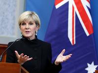 Власти Австралии готовы к рассмотрению вопроса о введении новых санкций в отношении России в связи с отравлением бывшего полковника ГРУ Сергея Скрипаля и его дочери в британском Солсбери, заявила журналистам министр иностранных дел страны Джули Бишоп