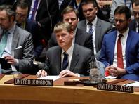 Заседание проходит по инициативе Великобритании