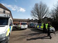 Британская полиция заколотила вход в дом Скрипаля