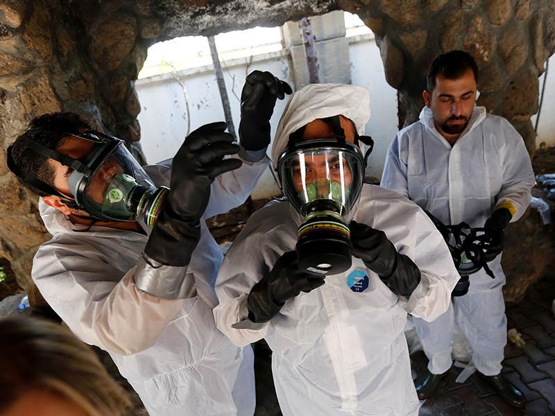 Администрация президента США Дональда Трампа рассматривает возможность проведения военных акций против сирийских властей в ответ на сообщения об использовании ими химического оружия