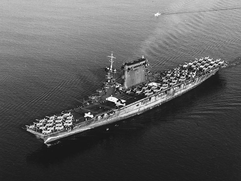 Затонувший во время Второй мировой войны американский авианосец USS Lexington обнаружен спустя 76 лет после гибели