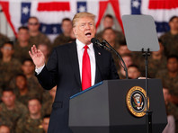 """Президент США Дональд Трамп анонсировал создание нового вида вооруженных сил страны - Космических сил. Об этом сообщает телеканал Fox News со ссылкой на заявление Трампа, сделанное во время посещения военно-воздушной базы """"Мирамар"""" (штат Калифорния)"""