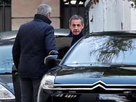 Саркози, переночевав дома, снова приехал давать показания  о  финансировании своего избрания  режимом Кадаффи