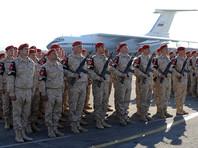 Все 2954 российских военных, проходящих службу в Сирии, проголосовали за Путина