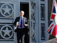 """Послу Великобритании в Москве Лори Бристоу в МИДе РФ был """"заявлен решительный протест в связи с провокационными и ничем не обоснованными действиями британской стороны, инспирировавшей безосновательную высылку российских дипломатов из целого ряда государств"""""""