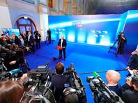 Западные лидеры пока не спешат поздравлять Путина, который по итогам подсчета 99,81% бюллетеней получил 76,67% голосов избирателей