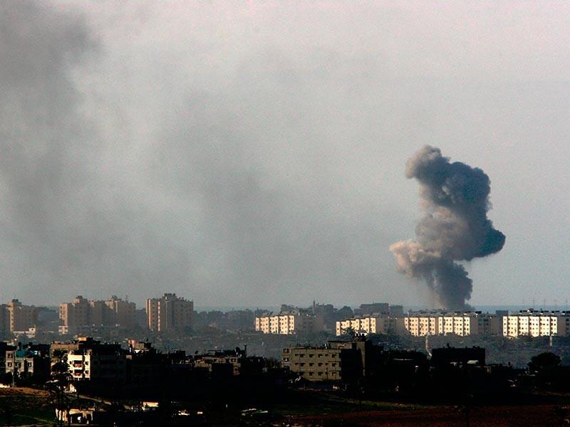 """Израильские ВВС атаковали цели в секторе Газа"""" />"""