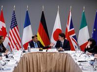 """Страны G7 поддержали удары по Сирии и призвали Россию к """"срочному ответу"""" по делу Скрипаля"""