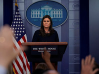 Решение о новых санкциях в отношении России, связанных с сирийским кризисом, пока не принято, объявила пресс-секретарь Белого дома Сара Сандерс