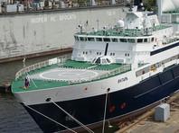 """Российский """"Янтарь"""" последним из иностранных судов прекратил поиск пропавшей аргентинской подлодки """"Сан-Хуан"""""""