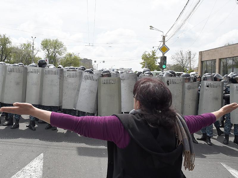 Ереван, 22 апреля 2018 года