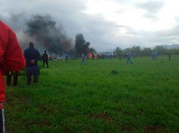 """В Алжире   разбился военный самолет - более 200 погибших"""" />"""