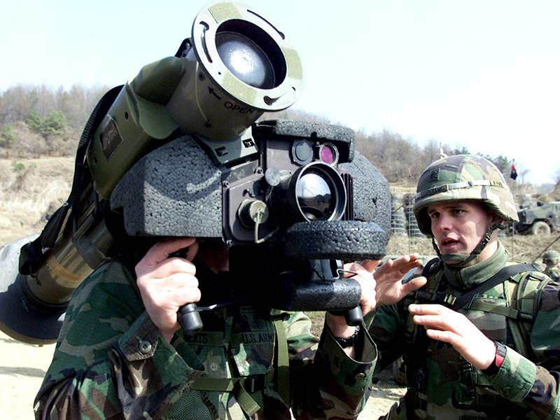 Американские противотанковые комплексы Javelin прибыли на Украину