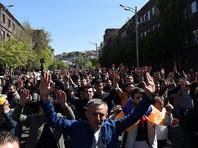 Массовые митинги оппозиции начались в Ереване с 16 апреля