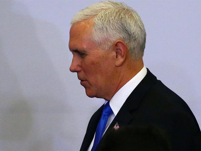 """Вице-президент США обвинил Россию в попытках исказить """"очевидные доказательства"""" преступлений Асада"""