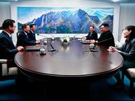 Лидеры Южной Кореи и КНДР приняли декларацию, пообещав подписать мирный договор и прекратить враждебные действия
