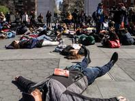 """В США прошла общенациональная акция памяти погибших при стрельбе в школах"""" />"""