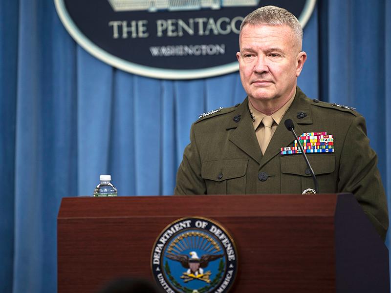 """""""Тот факт, что президент не поставил перед нами конкретного срока, является очень эффективным шагом"""", - заявил в ходе брифинга в Пентагоне генерал Кеннет МакКензи"""