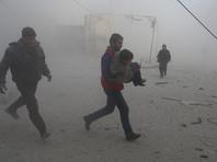 Предполагалось, что новые санкции будут введены против тех компаний, которые имели дело с оборудованием, связанным с Башаром Асадом и применением химоружия