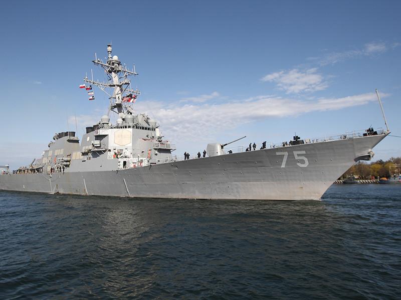 """США готовятся к ударам по Сирии, направляя суда в Средиземное море. Сирийские ВВС перебазируются в Хмеймим"""" />"""