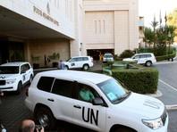 Инспекторы ОЗХО, Дамаск, октябрь 2013 года