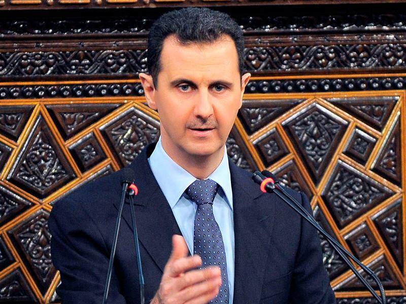 """Башар Асад вернул Франции полученный им более 15 лет назад орден Почетного легиона"""" />"""