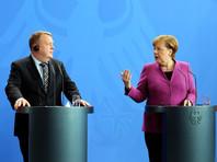 После переговоров в Берлине со своим датским коллегой Ларсом Лёкке Расмуссеном глава немецкого правительства подчеркнула, что ее страна не будет участвовать в возможных боевых действиях против режима Асада