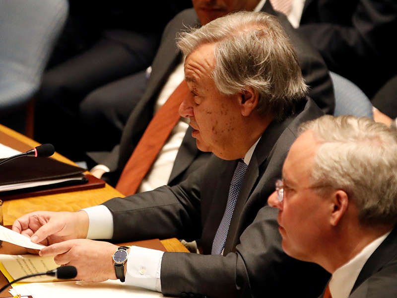 """Генсек ООН назвал главную опасность вновь развязавшейся холодной войны"""" />"""
