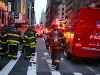 По данным пожарной службы Нью-Йорка, на месте ЧП работали до двухсот человек. Возгорание быстро локализовали, в сгоревшей квартире нашли человека