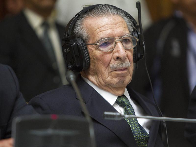 Умер бывший диктатор Гватемалы Эфраин Монтт - ему был 91 год, он страдал деменцией и его в этой связи судили без наказания