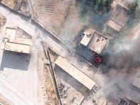 Вероятно, имелся в виду инцидент 7 февраля у села Хашшам в провинции Дейр-эз-Зор, где проправительственное ополчение предприняло наступление на формирования оппозиции, поддерживаемой США