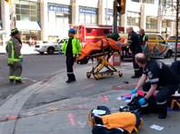 В Торонто фургон наехал на пешеходов: девять человек погибли, 16 пострадали