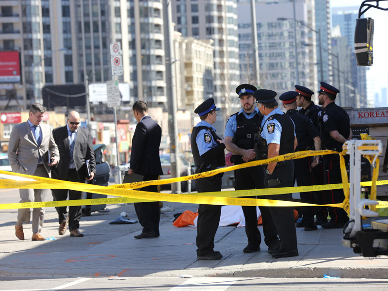 """Обвиняемый в наезде на пешеходов в Торонто незадолго до трагедии оставил зашифрованное сообщение в Facebook"""" />"""