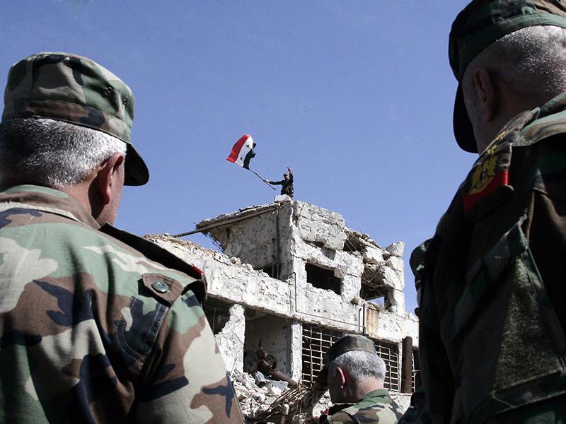 """Сирийские войска установили полный контроль над Восточной Гутой, заявили  в Центре по примирению сторон"""" />"""