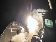 США, Великобритания и Франция начали обстрел Сирии крылатыми ракетами