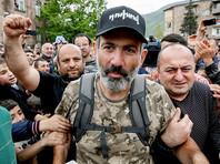 Лидер протестов Пашинян вновь зовет жителей Еревана на демонстрацию