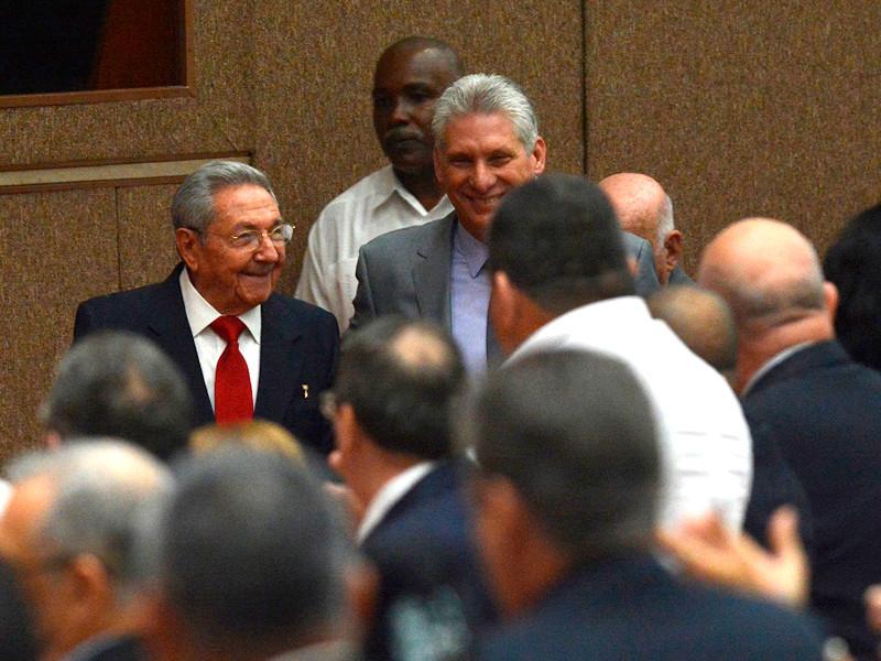 """Зампредседателя Госсовета Кубы стал единственным кандидатом на пост главы государства"""" />"""